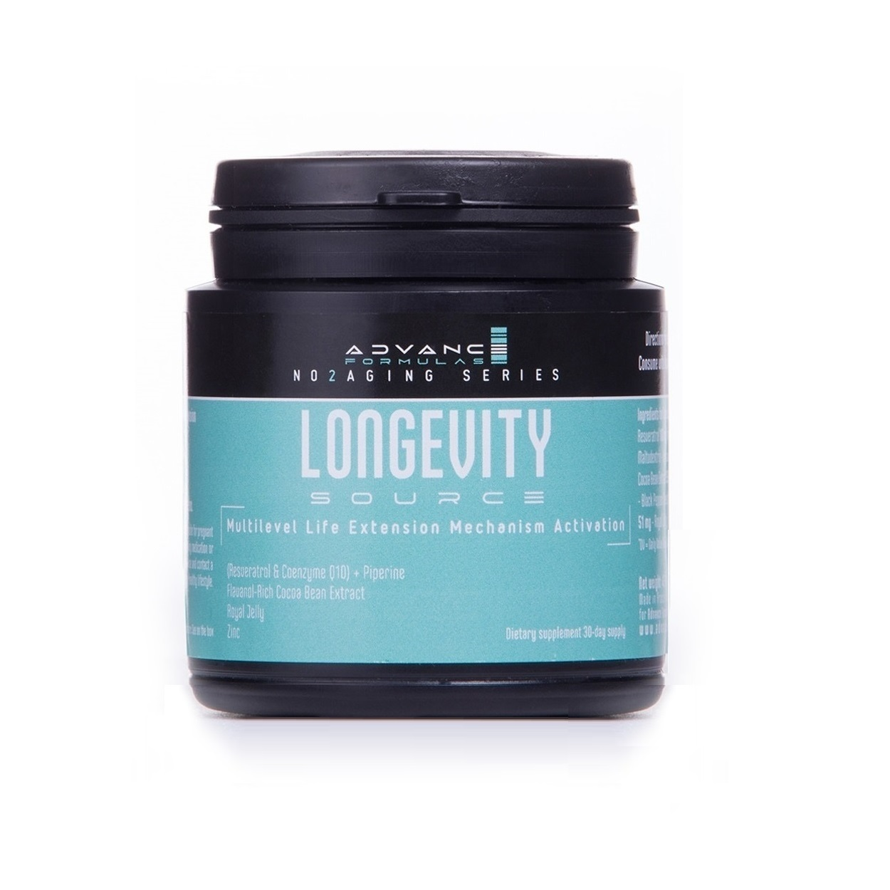 Advance Formulas Longevity Source